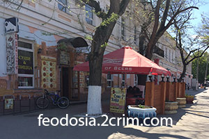 """Арт-кафе """"Старый город"""", Феодосия"""
