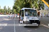 Точка сбора на экскурсию на автобусе кабриолете в Феодосии