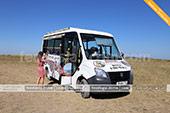 Смотровая площадка на горе Клементьева в экскурсии на автобусе кабриолете в Феодосии