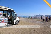 На горе Клементьева в экскурсии на автобусе кабриолете в Феодосии