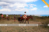 Прогулки на лошадях в Феодосии - Крым
