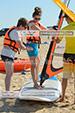 Ученица школы виндсерфинга Wild Beach в Феодосии