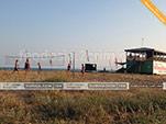 Пляжный волейбол у пункта проката Wild Beach в Приморском - Феодосия