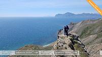 Виды на маршруте прогулок на джипах в Феодосии