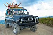 Прогулки на джипах в Феодосии на Тепе-Оба