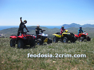 Прогулки на Квадроциклах, Феодосия