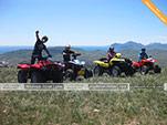 Вид с горы Тепе-Оба на Кара-Даг