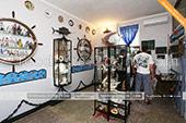 Зал музея рыбы и рыболовства