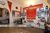 Зал музея рыбы и рыболовства в Феодосии