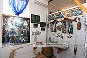 Экспонаты в музее рыбы и рыболовства в Феодосии