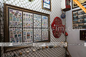Коллекция марок в музее рыбы и рыболовства в Феодосии -  Крым