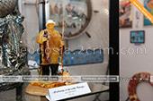 Рыболов и янтаря в музее рыбы и рыболовства в Феодосии -  Крым