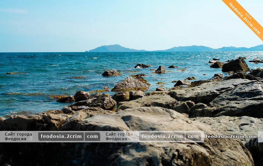 Пляжи мыса Ильи, Феодосия