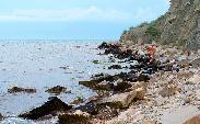 Пляж на мысе Чумка Феодосия