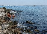 Пляж на мысе Чумка