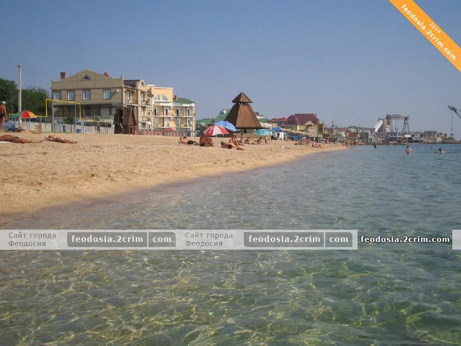 Пляжи Черноморской набережной, Феодосия