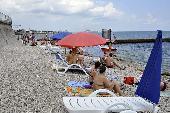 Пляж базы отдыха «Ай-Петри» Феодосия