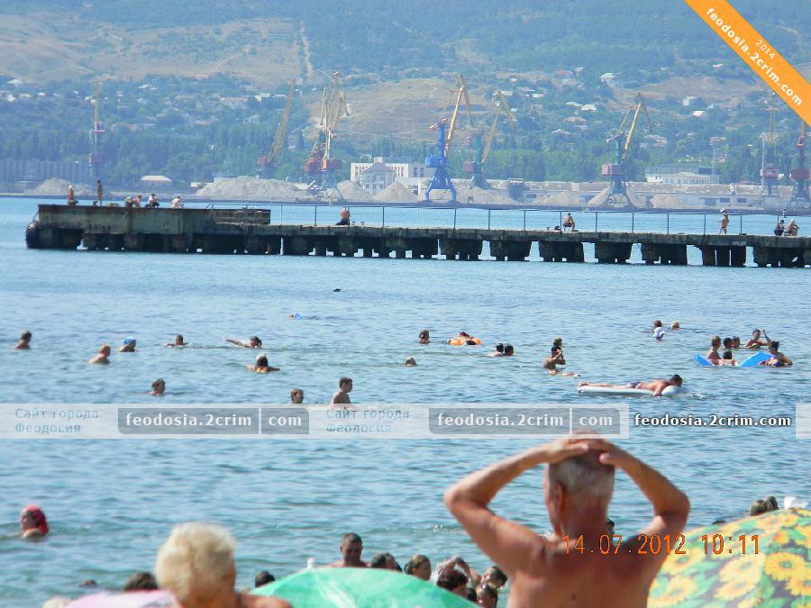 """Пляж """"Баунти"""", Феодосия"""