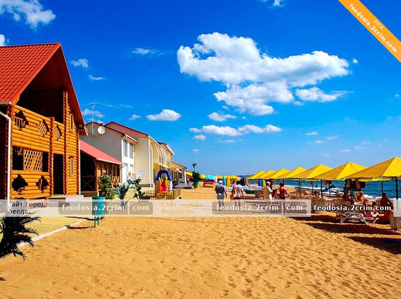 Пляжи Феодосии Пляжи поселков Приморский и Береговое