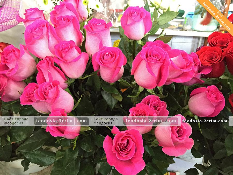 Доставка цветов крым феодосия подарок женщине из россии