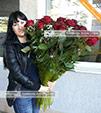 Букеты роз для девушек