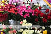 Букеты из разных роз