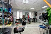 Большой зал в парикмахерской Персона в Феодосии