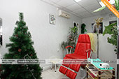 Кресло для педикюра в парикмахерской Персона в Феодосии