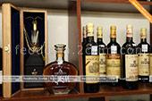 Подарочный набор Коктебельского коньячного завода в винном магазине в Феодосии