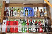 Большой выбор Мартини в винном магазине в Феодосии