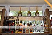 Большой выбор Бакарди в винном магазине в Феодосии