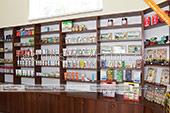 Косметалогические товары от крымских производителей в винном магазине в Феодосии