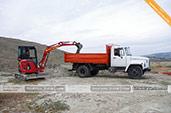 Услуги мини-экскаватора и ЗИЛа в Береговом