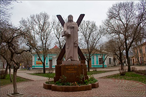 Памятник Андрею Первозванному, Феодосия