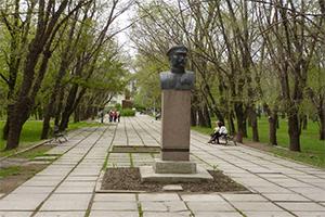 Памятник Ивану Федько, Феодосия