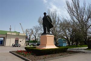 Памятник Ленину, Феодосия