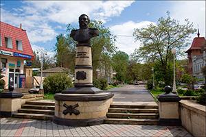 Памятник Н.М. Соковнину, Феодосия